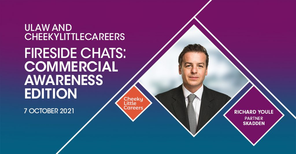 Richard Youle live fireside chat banner